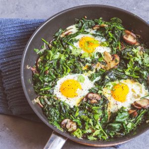 Spinach Shakshouka Recipe