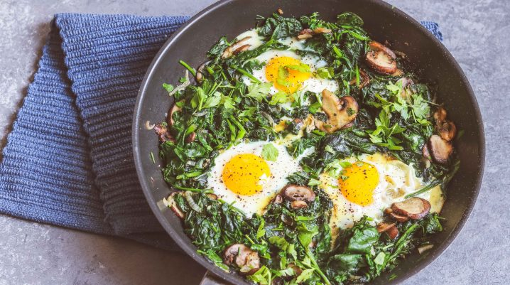 Spinach Shakshouka Recipe