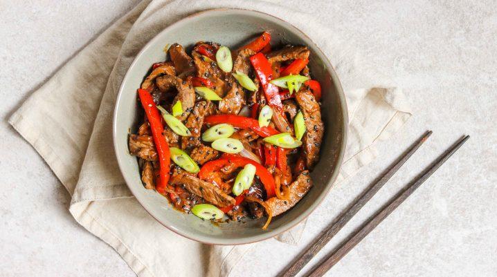 Pepper Steak Bowl