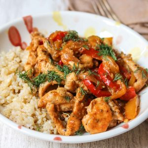 Chicken and Mango Stir Fry