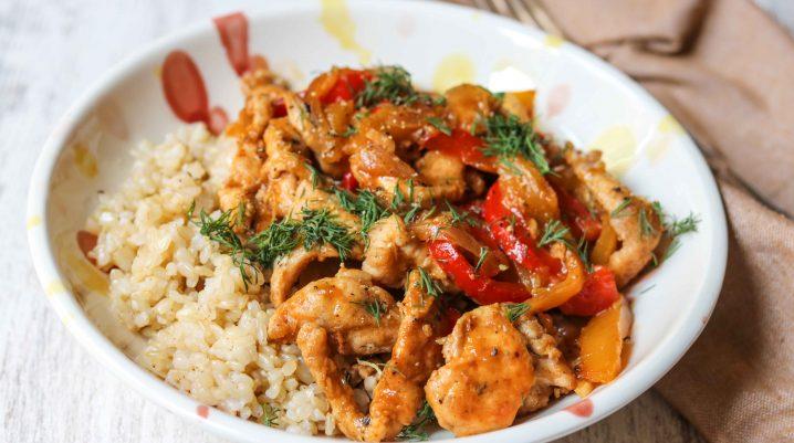 Chicken and Mango Stir Fry