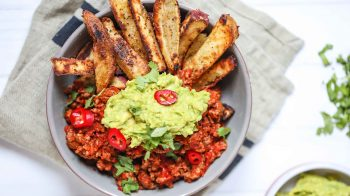 Chili & Sweet Potato Wedges