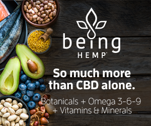 Being Hemp Nano CBD tinctures